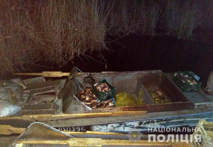 На Каховському водосховищі зловили  брак…