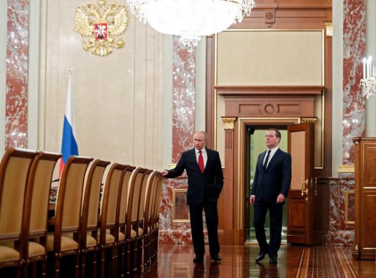 Отставка российского правительства: Для…