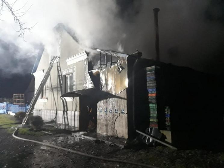 Біля Дубно загасили пожежу (ФОТО)…