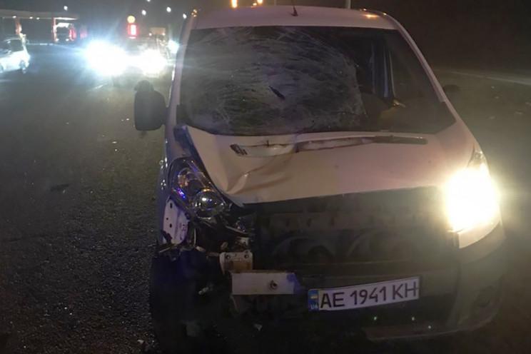 Рядом с Днепром машина насмерть сбила пе…