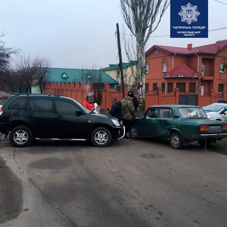 В Кропивницком  на улице Андреевской про…