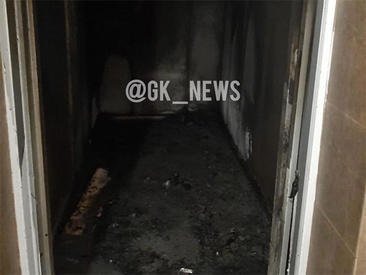 У Гарячому Ключі через пожежу в ліфті ев…