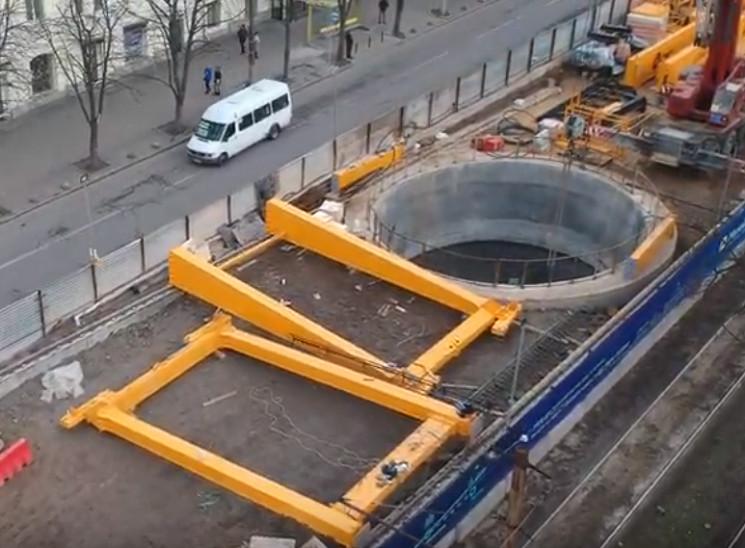 З'явилося унікальне відео з будівництва…