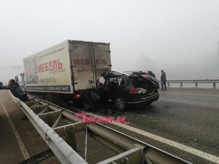 В Адигеї кількість загиблих в аварії зро…