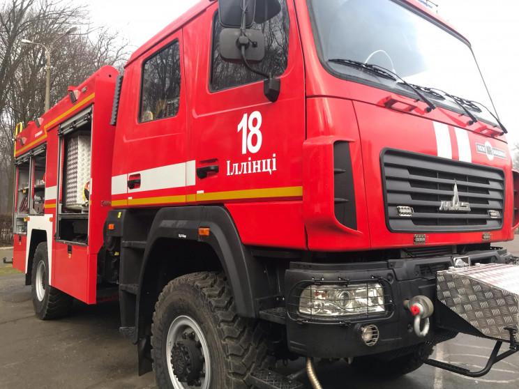 Пожежникам Вінниччини передали сучасні с…