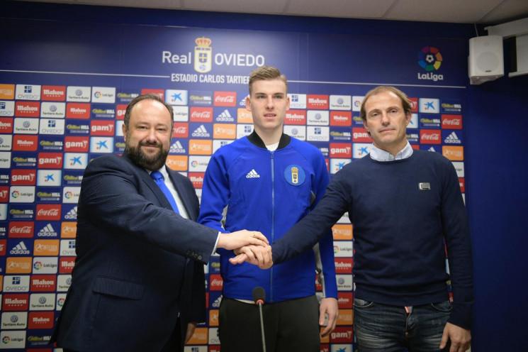 Іспанський клуб офіційно презентував укр…