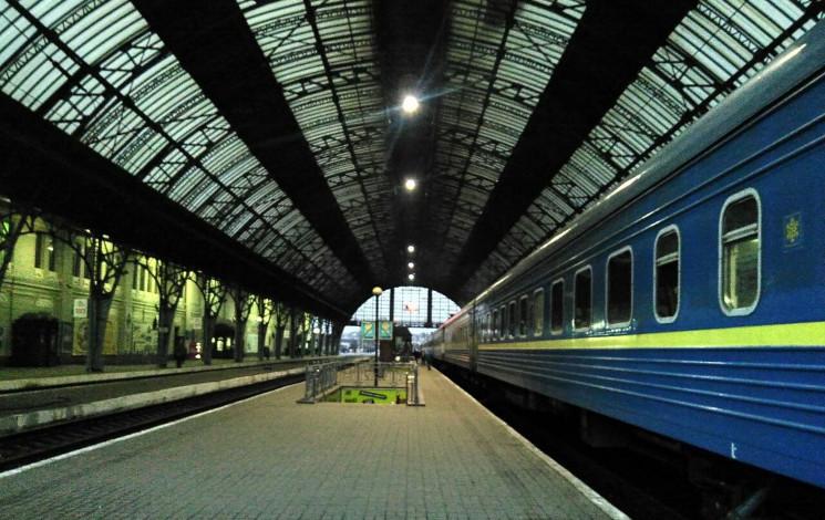 Львівський вокзал знову перетворився на…