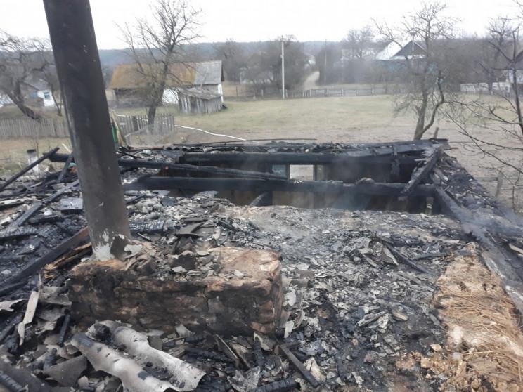 Біля Острога згорів будинок (ФОТО)…