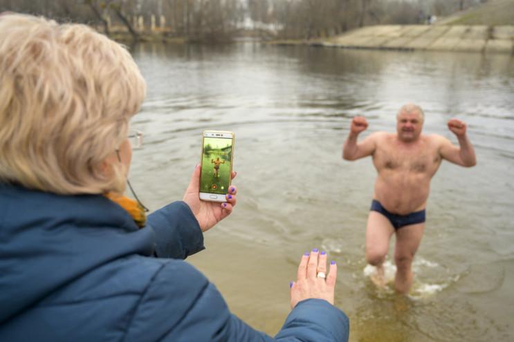 Як у столиці святкують Водохреще (ФОТОРЕ…