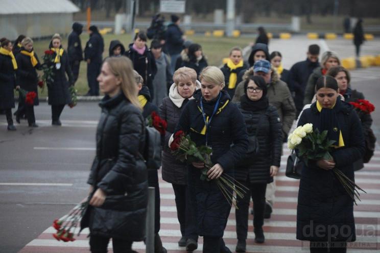 Прощання з жертвами збитого літака: Ким…