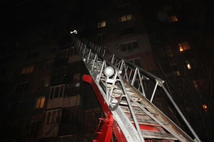 В Кропивницком на Попова горела квартира…