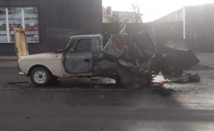 У Майкопі на ходу вибухнув автомобіль…