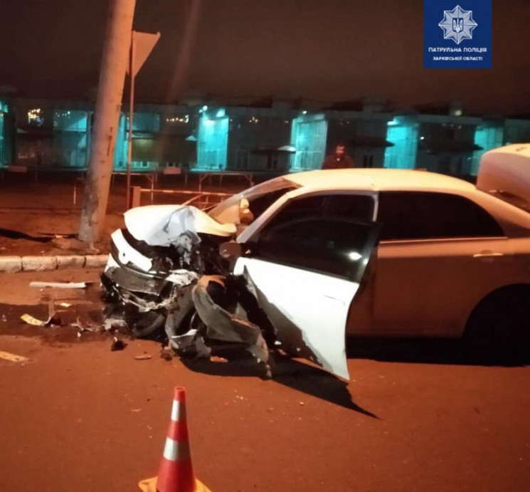 Водитель Toyota в Харькове протаранил бо…