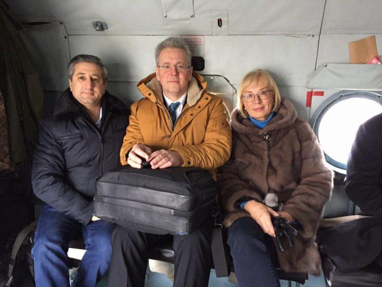 Денисова и председатель ОБСЕ отправились…