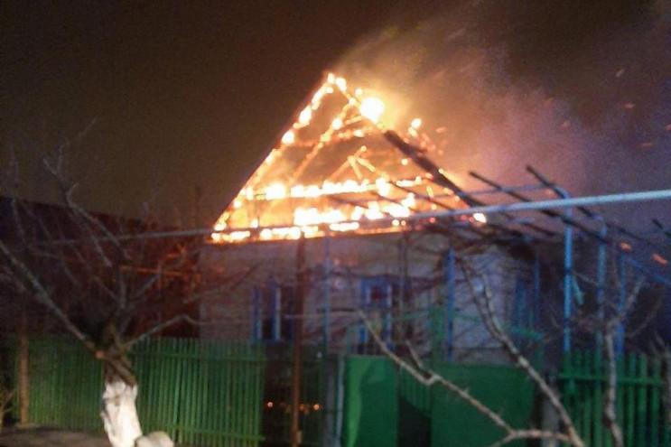 На Запоріжжі через потужну пожежу родина…