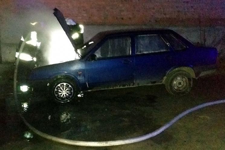 У Славуті горіла автівка…