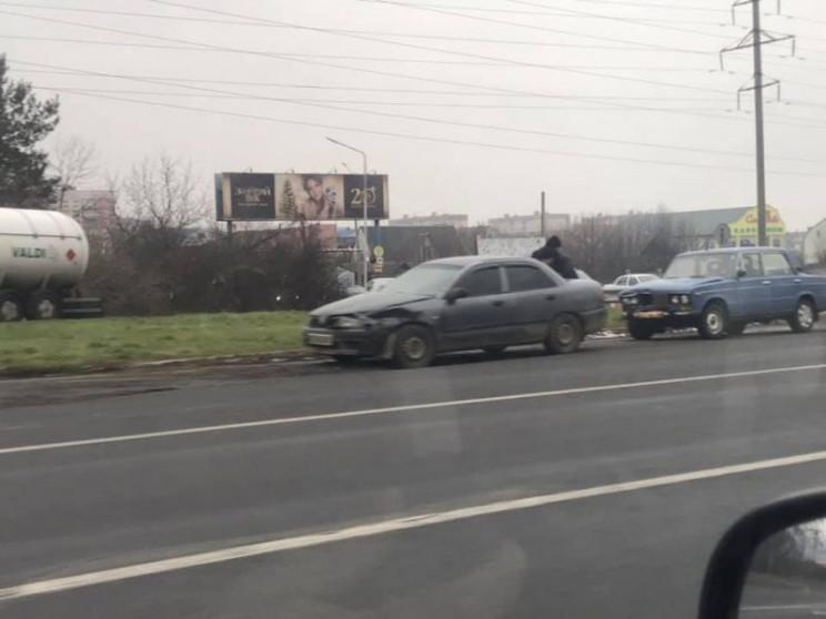 При выезде из Мукачево произошла авария…