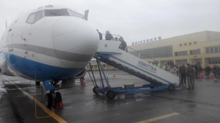 Вінницький аеропорт значно  скоротив пас…