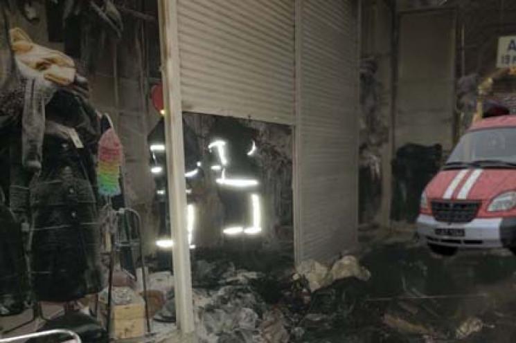 У Хмельницькому підпалили на базарі кіос…