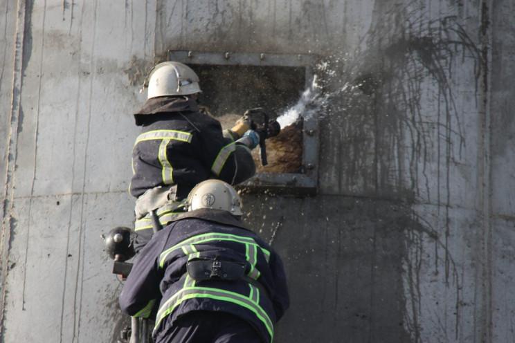 """З'явилися фото з пожежі на """"Барлінеку""""…"""