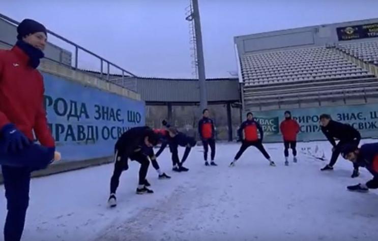 """Футболісти запорізького """"Металурга"""" пове…"""
