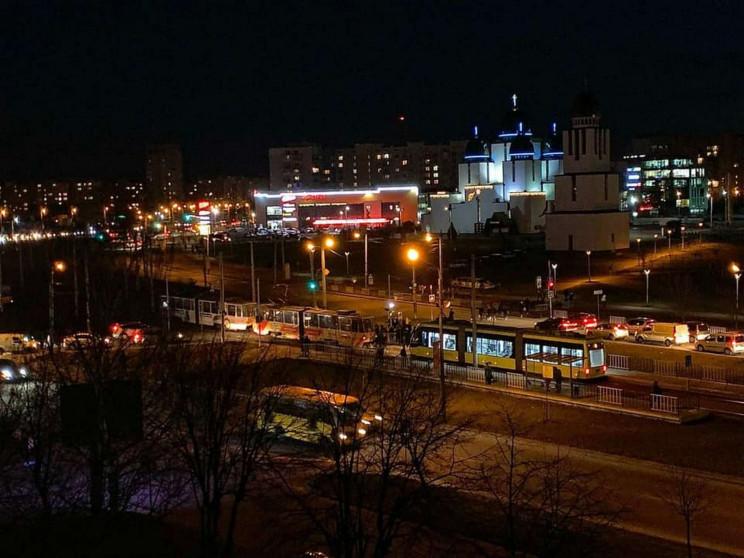 Львівські трамваї зібралися на перепочин…
