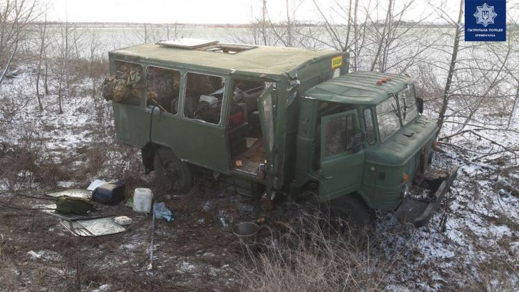 ДТП на Полтавщині: Автівка військової ча…