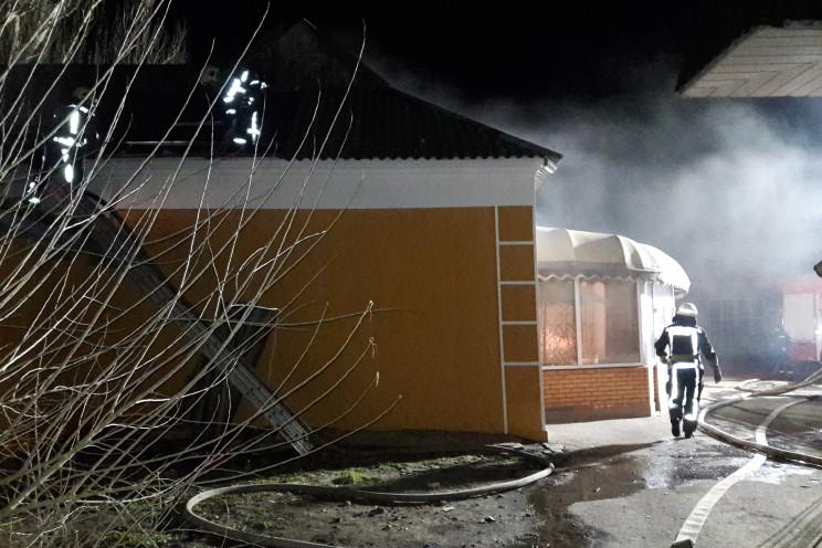 На Херсонщине ночью подожгли магазин…