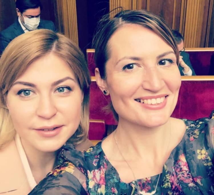 Ольга Стефанишин нова віце-прем'єрка з питань європейської інтреграції ліворуч