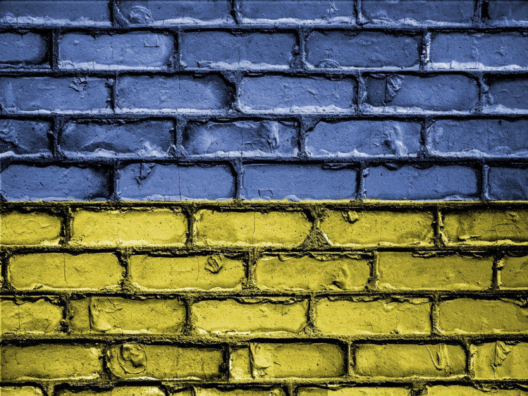 стіна як прапор України