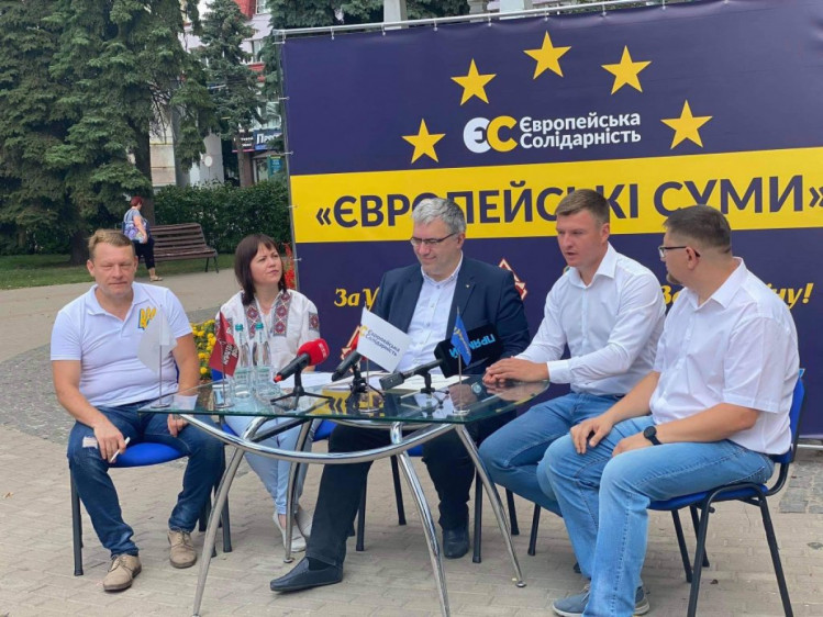 кандидат у мери від европейської солідарності