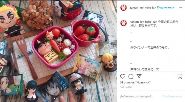 японська їжа у садочку