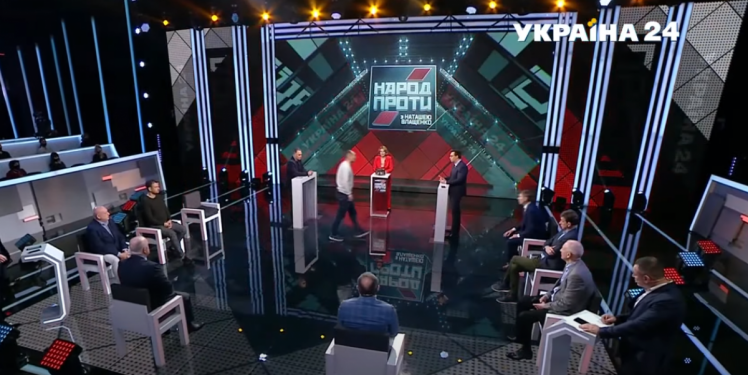 Бутусов Мураєв конфлікт у прямому ефірі